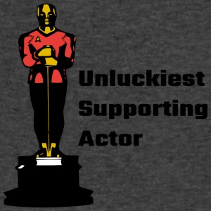 Unluckiest Supporting Actor - Men's V-Neck T-Shirt by Canvas