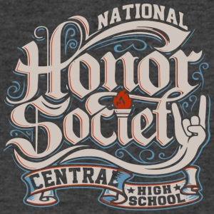 NATIONAL CENTRAL HIGH SCHOOL - Men's V-Neck T-Shirt by Canvas