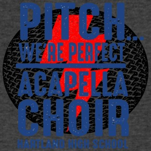 PITCH WE RE PERFECT ACAPELLA CHOIR HARTLAND HIGH S - Men's V-Neck T-Shirt by Canvas