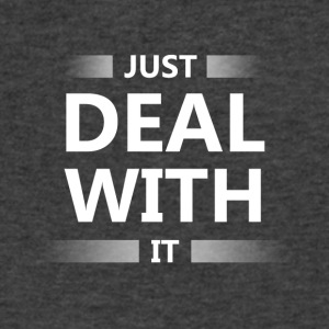 Just deal with it - Men's V-Neck T-Shirt by Canvas