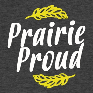 Prairie Proud White and Gold - Men's V-Neck T-Shirt by Canvas