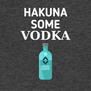 Hakuna some Vodka - Men's V-Neck T-Shirt by Canvas