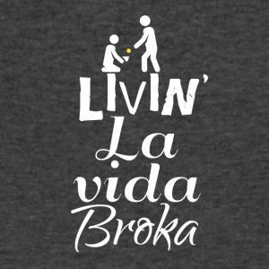 Livin' la vida - Men's V-Neck T-Shirt by Canvas