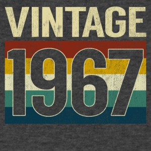 Retro Vintage 1967 T-Shirt Classic 50th Birthday - Men's V-Neck T-Shirt by Canvas