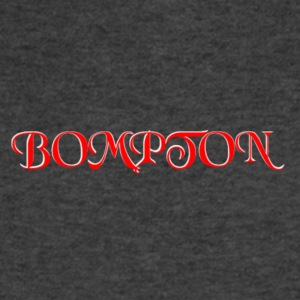 RED AND WHITE BOMPTON CALIFORNIA - Men's V-Neck T-Shirt by Canvas