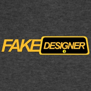 fakedesigner - Men's V-Neck T-Shirt by Canvas