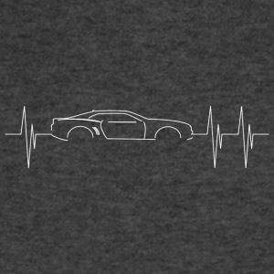 5th Generation Camaro Heartbeat - Men's V-Neck T-Shirt by Canvas