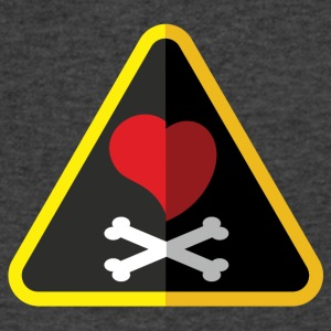 Love is a Pirate (Sometimes) - Men's V-Neck T-Shirt by Canvas