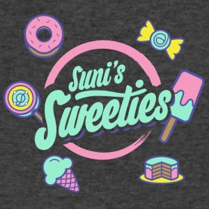 Colored Sunis Sweeties - Men's V-Neck T-Shirt by Canvas