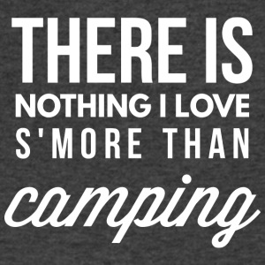 Nothing I love s'more than Camping - Men's V-Neck T-Shirt by Canvas