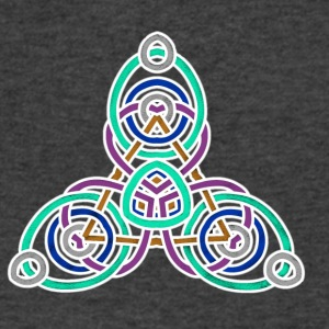 celtic knot 1 - Men's V-Neck T-Shirt by Canvas