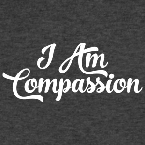 I AM Compassion Affirmation T-Shirts & Sweatshirts - Men's V-Neck T-Shirt by Canvas