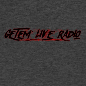 Getem Live Radio - Men's V-Neck T-Shirt by Canvas