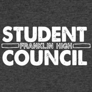 Student franklin high council - Men's V-Neck T-Shirt by Canvas
