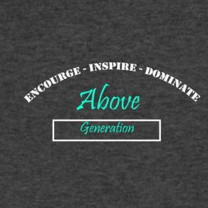 Encourage Inspire Dominate - Men's V-Neck T-Shirt by Canvas