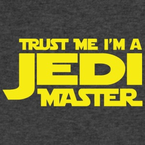 Trust Me I m A Jedi Master vectorized - Men's V-Neck T-Shirt by Canvas