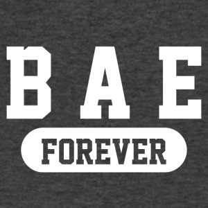 Bae Forever | Romantic, Valentines, Friends, Love - Men's V-Neck T-Shirt by Canvas