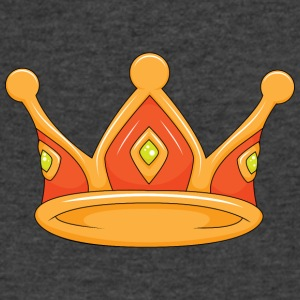 light red crown - Men's V-Neck T-Shirt by Canvas