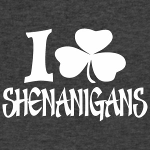 I Clover Shenanigans St Patrick Day - Men's V-Neck T-Shirt by Canvas