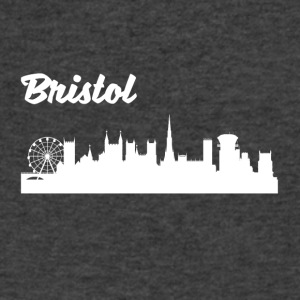 Bristol Skyline - Men's V-Neck T-Shirt by Canvas