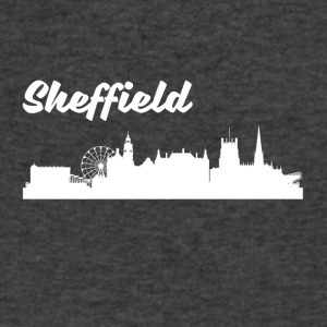 Sheffield Skyline - Men's V-Neck T-Shirt by Canvas