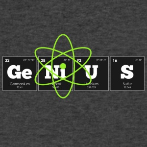 Periodic Elements: GeNiUS - Men's V-Neck T-Shirt by Canvas