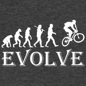 Evolve Cycling - Men's V-Neck T-Shirt by Canvas
