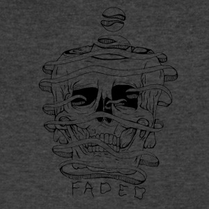 FADED - Men's V-Neck T-Shirt by Canvas