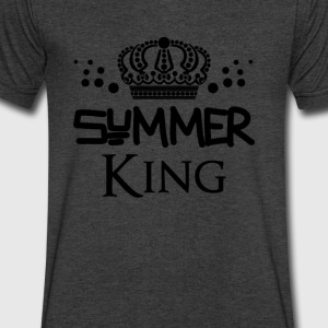 Summer king - Men's V-Neck T-Shirt by Canvas
