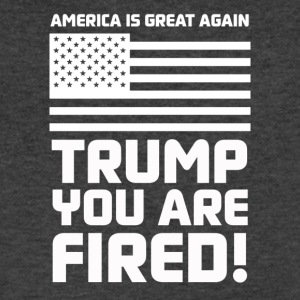 Trump you are fired! - Men's V-Neck T-Shirt by Canvas