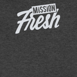 Mision fresh - Men's V-Neck T-Shirt by Canvas