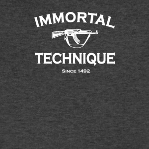 Immortal Technique - Men's V-Neck T-Shirt by Canvas