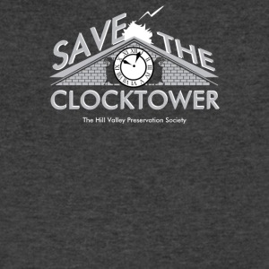 Save The Clocktower - Men's V-Neck T-Shirt by Canvas