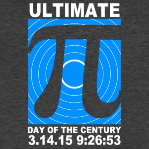 Ultimate Pi Day Of The Century - Men's V-Neck T-Shirt by Canvas