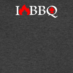 I Love BBQ - Men's V-Neck T-Shirt by Canvas