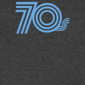 Seventies - Men's V-Neck T-Shirt by Canvas