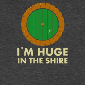 I m Huge in the Shire - Men's V-Neck T-Shirt by Canvas