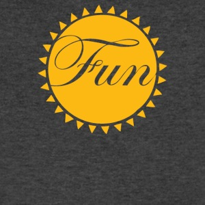 Fun In The Sun - Men's V-Neck T-Shirt by Canvas