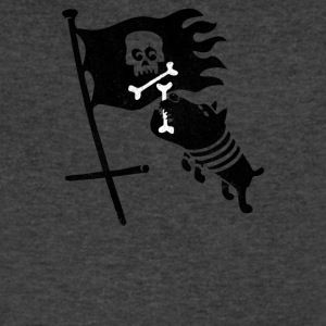 JOLLY ROGER - Men's V-Neck T-Shirt by Canvas
