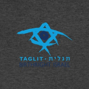 Birthright Israel - Men's V-Neck T-Shirt by Canvas
