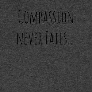 Compassion Never Fails - Men's V-Neck T-Shirt by Canvas