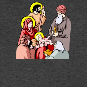Christmas Scenes Baby - Men's V-Neck T-Shirt by Canvas