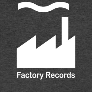 Factory Records - Men's V-Neck T-Shirt by Canvas