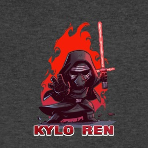baby kylo ren - Men's V-Neck T-Shirt by Canvas