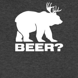 Beer Deer Bear Funny - Men's V-Neck T-Shirt by Canvas