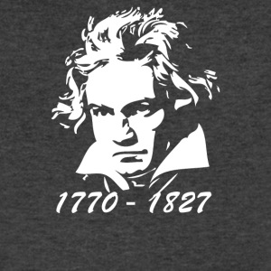 Beethoven Tribute - Men's V-Neck T-Shirt by Canvas