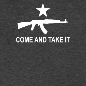 Come and Take it - Men's V-Neck T-Shirt by Canvas