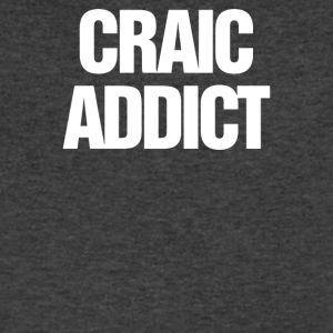 Craic Addict - Men's V-Neck T-Shirt by Canvas