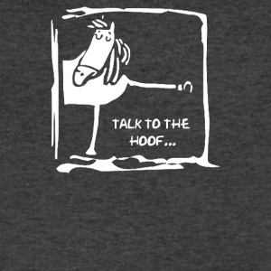 Talk To The Hoof - Men's V-Neck T-Shirt by Canvas