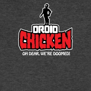 Droid Chicken - Men's V-Neck T-Shirt by Canvas